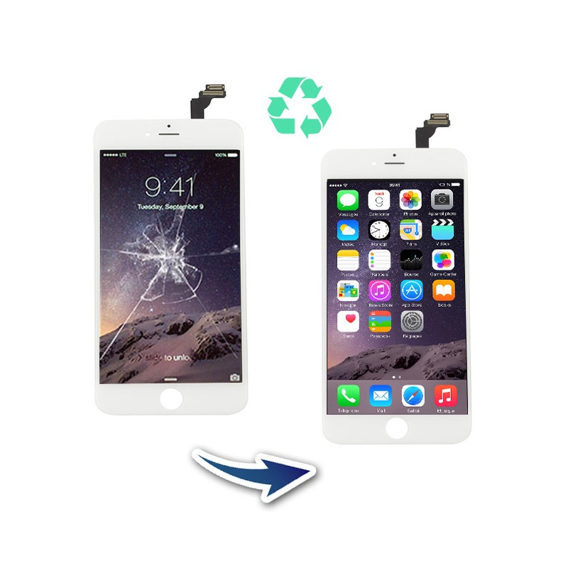 Prestation reconditionnement Iphone 6 Blanc