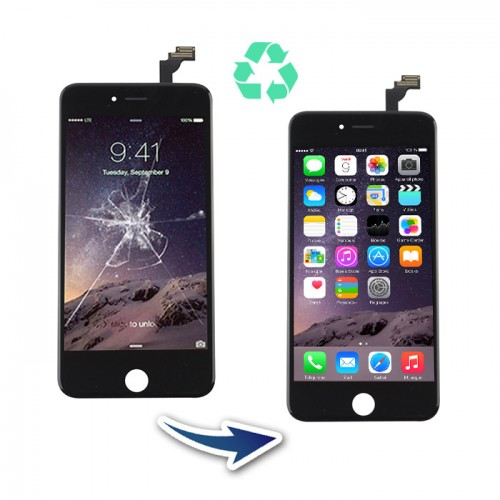 Prestation reconditionnement Iphone 6 Plus Noir