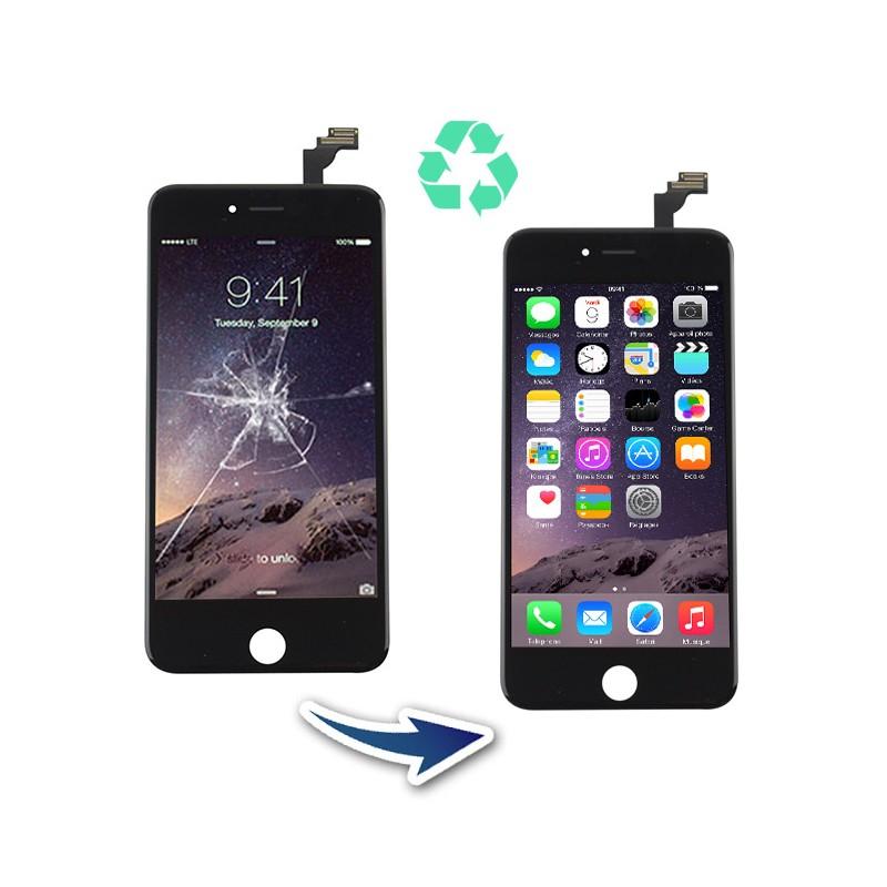 Prestation reconditionnement Iphone 6 Plus Noir
