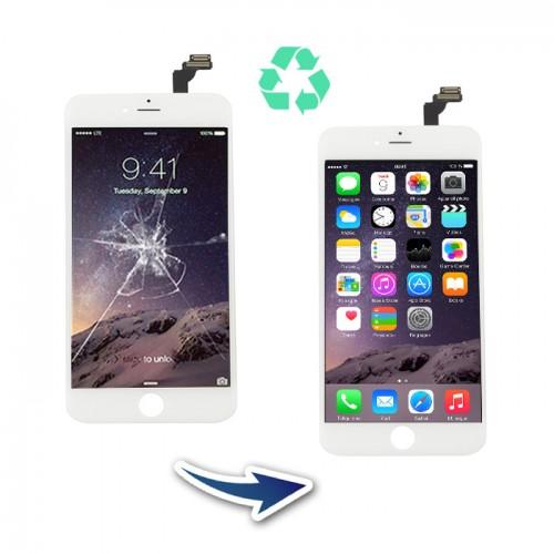 Prestation reconditionnement Iphone 6 Plus Blanc