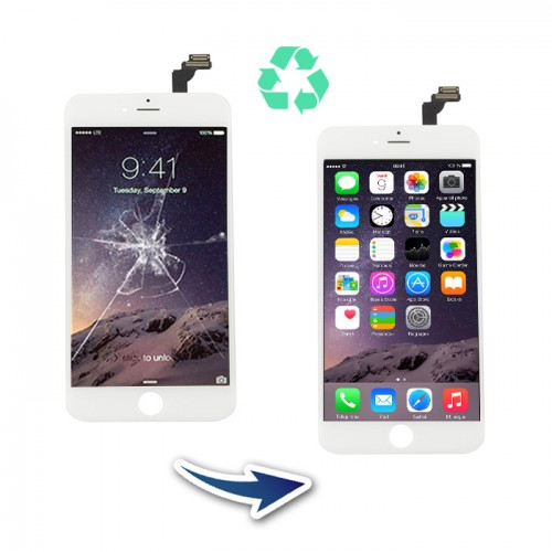 Prestation reconditionnement Iphone 6 Plus Blanc