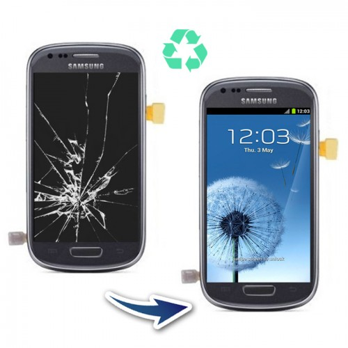 Prestation reconditionnement Samsung Galaxy S3 mini I8190 noir