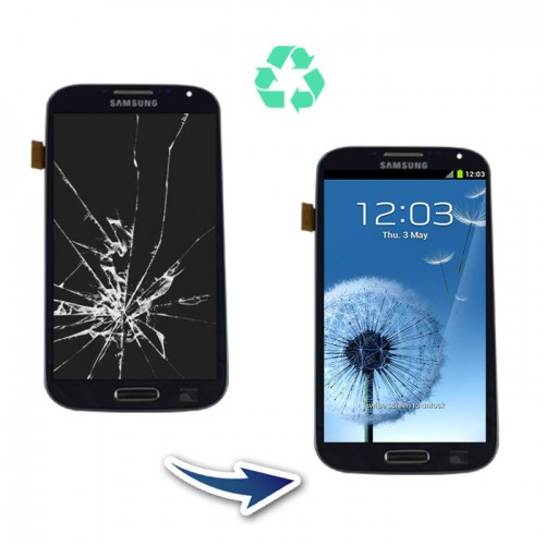 Prestation reconditionnement Samsung Galaxy S4 I9505 noir