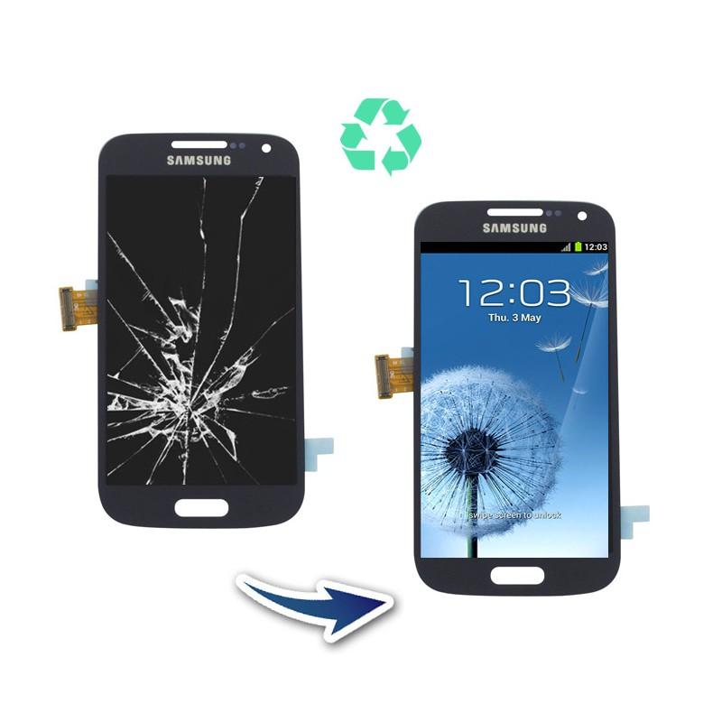 Prestation reconditionnement Samsung Galaxy S4 mini I9195 blanc