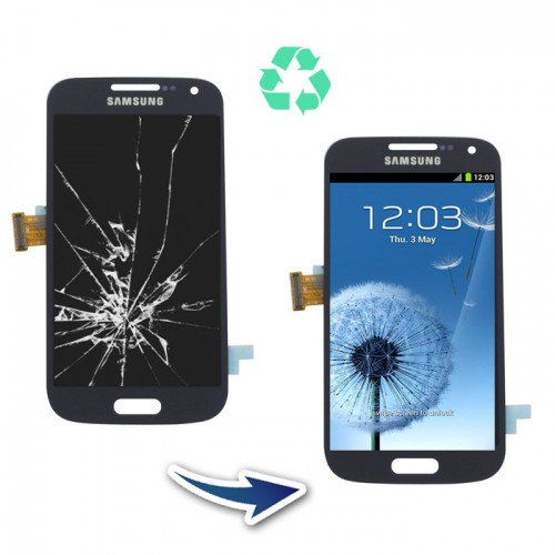 Prestation reconditionnement Samsung Galaxy S4 mini I9195 noir
