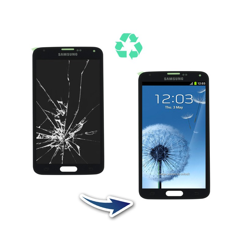 Prestation reconditionnement Samsung Galaxy S5 G900F noir