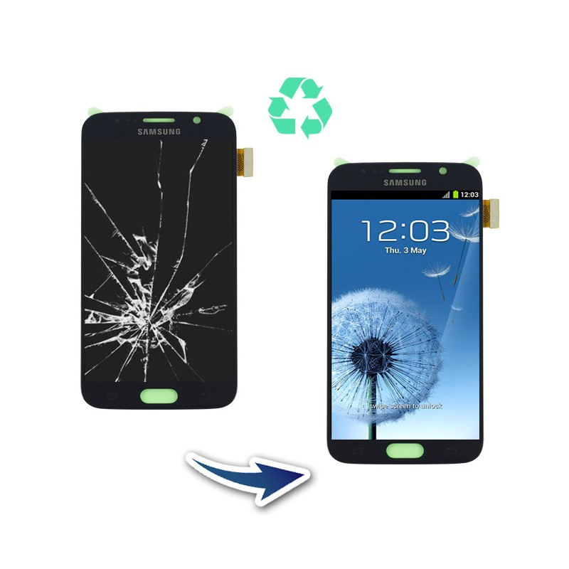 Prestation reconditionnement complet Samsung Galaxy S6 G920F noir