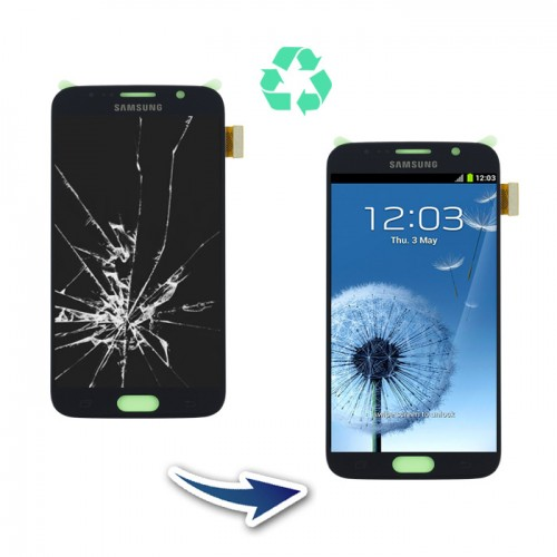 Prestation reconditionnement complet Samsung Galaxy S6 G920F bleu