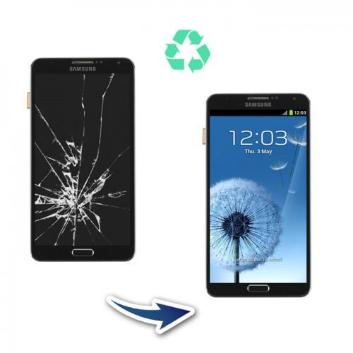 Prestation reconditionnement Samsung Galaxy Note 3 N9005 blanc